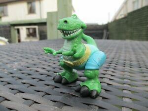 "RARE 2003 Hasbro Disney Pixar Toy Story - WRESTLING MATCH REX Action Figure 2.5"""