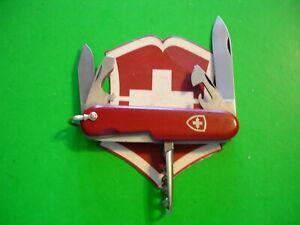 NTSA VINTAGE (1957-74) SWISS ARMY VICTORIA VICTORINOX PKT KNIFE 91mm STANDARD