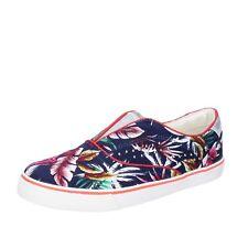 womens shoes WRANGLER 5 (EU 38) sneakers blue canvas BT776-38