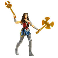 Wonder Woman DC Universe Justice League Action Figure W/Axe & Star Blade Sealed