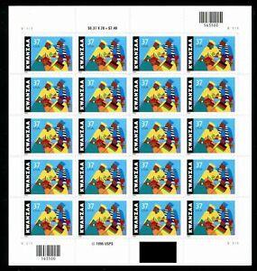 United States #3673 MNH M/S 2002 Kwanzaa Dashiki Black Heritage [V1111 Pos 2]