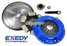 FX PERFORMANCE CLUTCH KIT+EXEDY FLYWHEEL 92-00 HONDA CIVIC 93-97 DEL SOL D15 D16