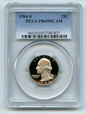 1984 S 25C Washington Quarter Proof PCGS PR69DCAM