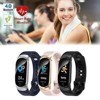 Smartwatch Bluetooth Fitness Tracker Sport Schrittzähler Armband Wasserdicht Uhr