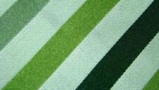 HUGO BOSS MADE IN ITALY GREEN BEAUTIFUL STRIPE SILK NECKTIE TIE MJA2419C N19