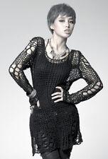 Pull tunique gothique punk lolita destroy déchiré usé mode fashion rock Punkrave