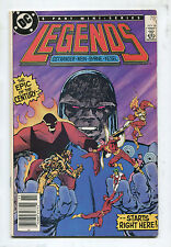 Legends #1 - 1st Amanda Waller - 1986 (Grade 7.0)