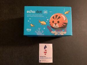 Amazon Alexa Echo Dot 4th Generation Kids Edition - Tiger IN STOCK