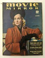 Movie Mirror Magazine December 1939 Carole Lombard, Laurence Olivier