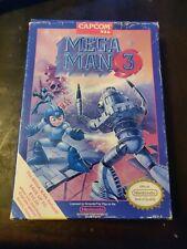CIB-Mega Man 3 (NES, 1990)