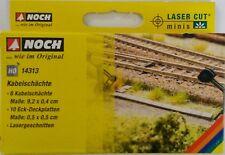 NOCH 14313 Cable Ducts (Laser Cut kit) 00/HO Gauge Model Railway