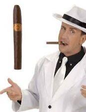 Vestido elegante Cigarro Falso Gangster Mafia Mafioso mexicano Accesorio Prop 1920S