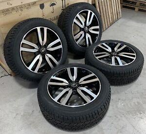 "Genuine Land Rover Discovery 4 20"" HSE Landmark Diamond Cut Alloy Wheels & Tyres"