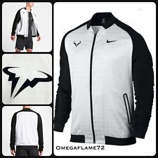Nike Court Rafael Nadal Wimbledon Tennis Jacket, Sz L,830929-100,