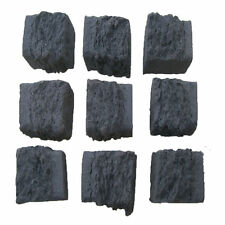10 replacement SMALL coals 4 gas fires imitation coal ceramic living flame