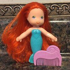 Vintage Kenner Sea Wees Mermaids Dolls CORAL & COMB ~ See Wees SeaWees ~ Rare ~