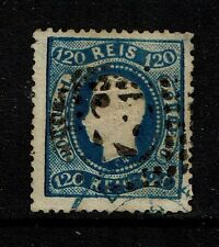 Portugal SC# 46, Used, top corner thin, Perf 12.5 - Lot 072317