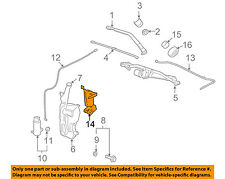 GM OEM Wiper Washer-Windshield-Heater 25956850