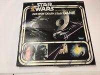 VINTAGE KENNER STAR WARS DESTROY DEATH STAR GAME 1977 - COMPLETE