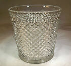 "WESTMORELAND GLASS ENGLISH HOBNAIL CRYSTAL 5-1/2"" TALL ICE TUB or VASE!"