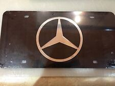 Mercedes Stainless Steel License Plate