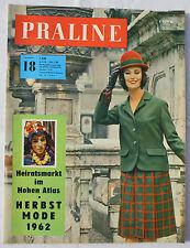 PRALINE 1962 Nr. 18: Die neue Mode 1962/63