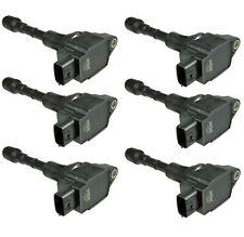 Set of 6 NGK Direct Ignition Coils for Infiniti EX37 G37 Q40 Q50 Q40L 3.7L V6