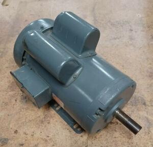 Dayton 6K393S Capacitor-Start General Purpose Motor, 2 Hp, 115/230V AC