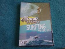 extreme sports surfing volume III dvd new freepost