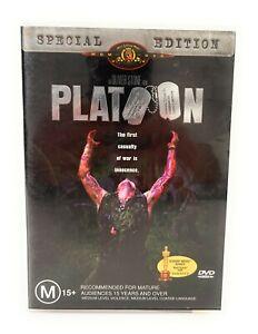Platoon (DVD, 1986) Special Edition Willem Dafoe Region 4 Free Postage