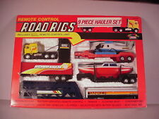 1990's Radio Control Road Rigs toys Truck 9 pc. set MIB battery operated RC toy