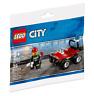 LEGO 30361 City Fire ATV - Brand New Sealed Polybag - Free Post