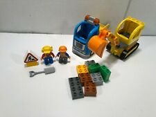 Lego Duplo Construction 10812 Truck & Tracked Excavator Complete No Manual Box