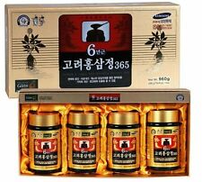 Korean 6-years Root Red Ginseng Gold Extract Saponin Panax - 8.5oz (240g) X 4ea