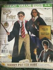New Rubies Harry Potter Robe Boys/Girls Costume Child Size Small 4-6 - NEW