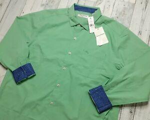NEW! Tommy Bahama Men's XL Island Zone Long Sleeve Button Up Shirt Flip Cuff NWT