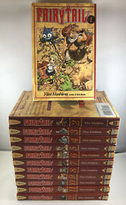 FairyTale Manga 1-12 by Hiro Mashima Paperback Lot