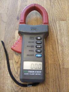 ISO-Tech/ICM39 AC/DC Clamp Meter