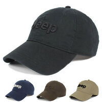 2018 Jeep Men's Cotton Hat Baseball Cap Golf Hat Ball Casual Sun Cap Outdoor Hat