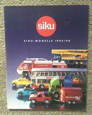 SIKU 1995/96 Catalogue