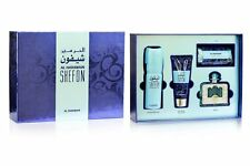 Al Haramain Shefon 100ml, Perfume Gift Set For Women - EDP  Deo, Lotion & Scarf