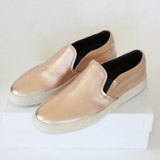 WOMAN by COMMON PROJECTS metallic copper shoes low top slip on sneakers 40 NEW