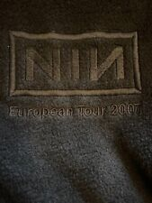 NINE INCH NAILS EXTREMELY RARE CREW STAFF TOUR JACKET #2