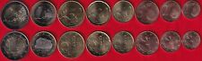 Andorra euro set (8 coins): 1 cent - 2 euro 2016-2019 UNC