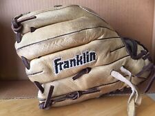 "Franklin Baseball Glove 11.5""  Deer Touch Steerhide Pro Right Hand Thrower LQQK"