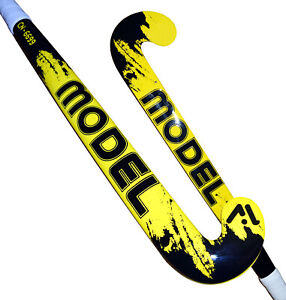 Model Indoor Hockey Stick Low Bow Profile 70% Carbon High stiff Light Weight