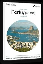 EuroTalk Talk Now Brazilian PORTOGHESE for Beginners - Download opzione & CD ROM