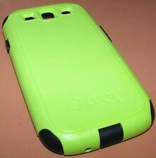 Otterbox Commuter Hybrid dual layer case Samsung Galaxy S III, Green & Navy Blue