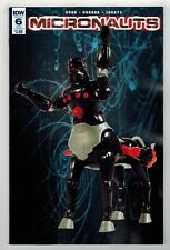 Micronauts #6 - Action Figure Subscription Cover B - Idw Publishing/2016