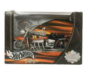 Hot Wheels 2002 NASCAR Thunder Rides Racing #25 MARINES 1:18 Motorcycle 55737